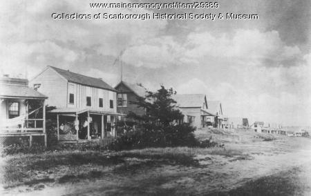 Cottages at Higgins Beach, Scarborough, ca. 1890