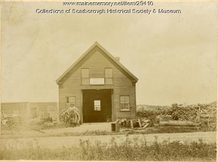 Googins Blacksmith Shop, Scarborough, ca. 1880