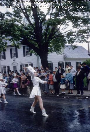 Sanford High School Majorette, ca. 1955