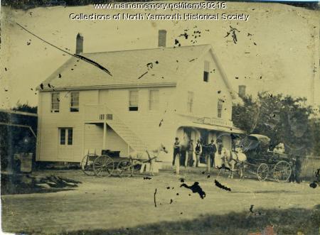North Yarmouth Walnut Hill store, ca. 1876