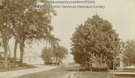 North Yarmouth Congregational Church ca. 1900