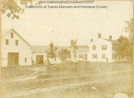 French Farm, Turner, ca. 1900