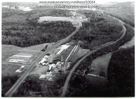 Drapers Mill, Guilford, late 1940s