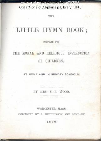 The Little Hymn Book, 1850