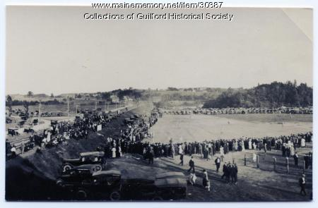 Guilford Ball Field, ca. 1920
