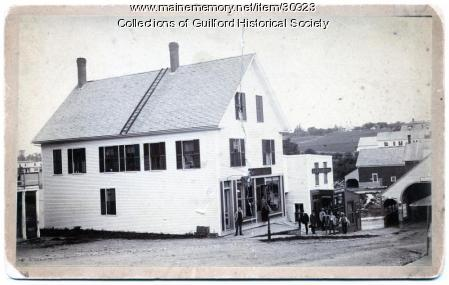Scales Buildings, Guilford, ca. 1880