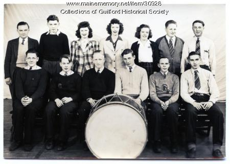 Guilford High School Orchestra, 1942