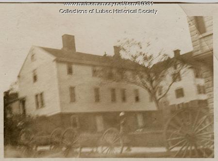 Golden Ball tavern, L:ubec, ca. 1900