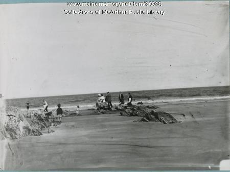 Googins Rocks, Old Orchard Beach, 1912