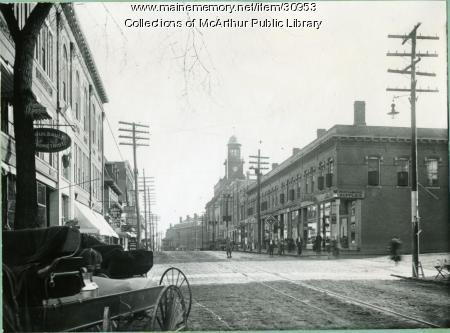 Main and Jefferson Streets, Biddeford, 1912