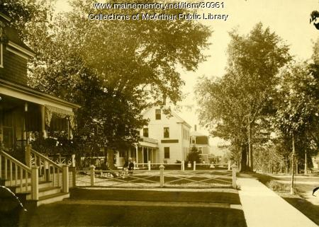 Street in Old Orchard Beach, circa 1910