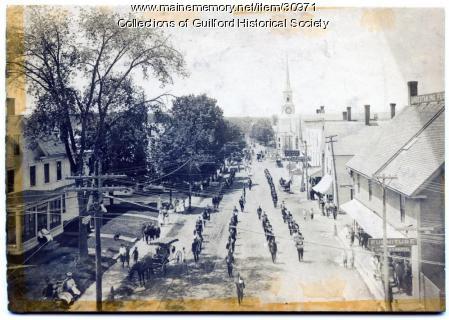 Memorial Day Parade, Guilford, 1911