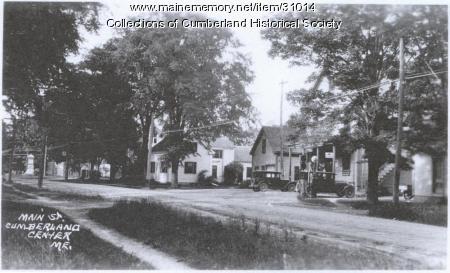 Main Street to Tuttle Road, Cumberland, ca. 1932