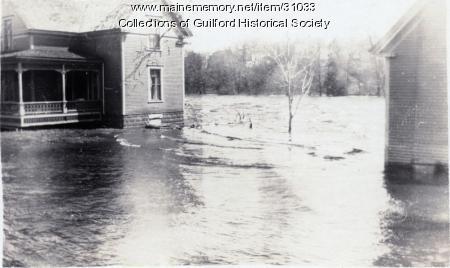River Street Flood, Guilford, 1923