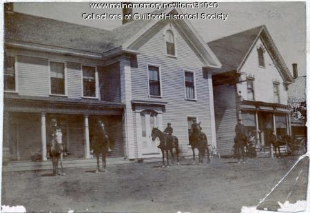 Tina Welts House on Elm Street, Guilford, ca. 1880