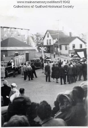 Main & Water Streets, Guilford, 1935