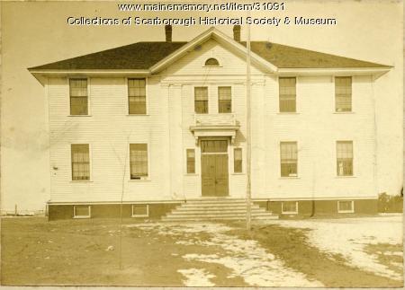 The White School, Scarborough, ca. 1910