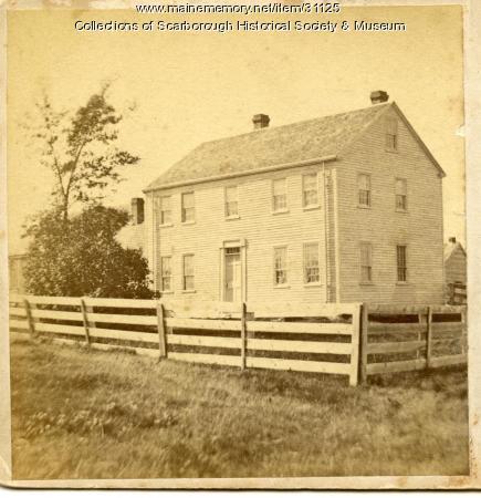 Ambrose Lothrop Home, Scarborough, ca. 1870