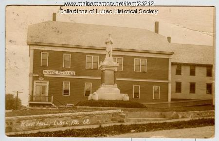 Knights of Pythias Hall, Lubec, ca. 1912