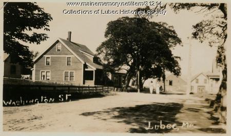 Washington Street, Lubec, ca. 1914