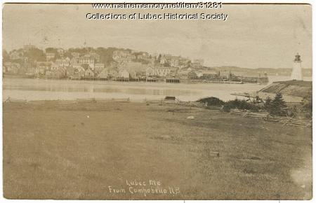 View from Campobello Island, ca. 1895