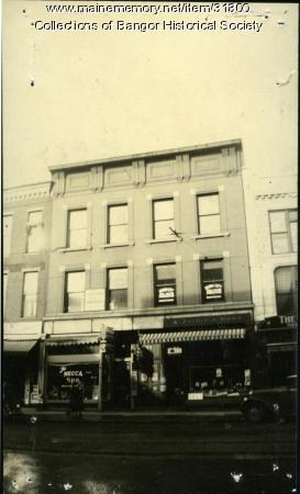 F. W. Hill Block, Bangor, ca. 1935