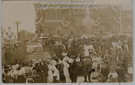 Centennial Monument, Lubec, 1911