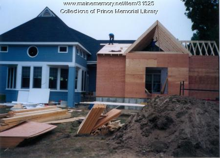 Prince Memorial Library addition, Cumberland, 1995
