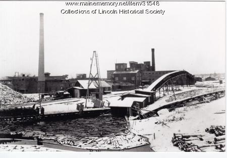 Pulp mill, Lincoln, 1915