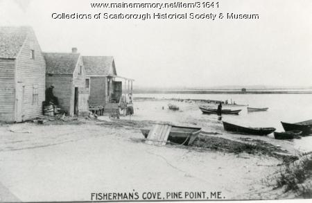 Cottages at Fisherman's Cove, Scarborough, ca. 1880