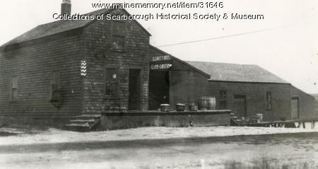 Leavitt Brothers Clam Plant, Scarborough, ca. 1915