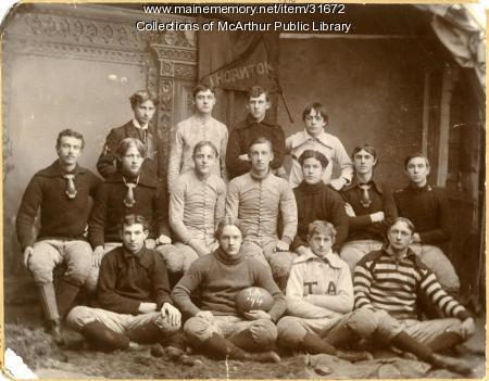 Thornton Academy Football Team, Saco, 1894