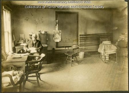 Frank Faulkner, Turner Woolen Mill, ca. 1900