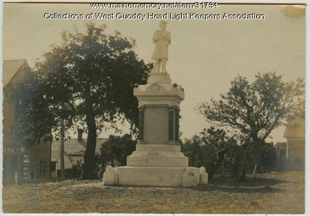 Soldiers' Monument, Lubec, ca. 1905