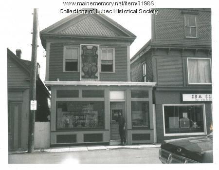 Sign Shop, Lubec, ca. 1975