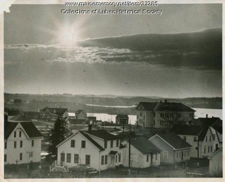 Flatiron Corner region, Lubec, ca. 1965