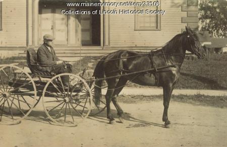 Asa Griffin, Lincoln, ca. 1900