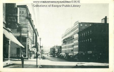 Main Street, Bangor, ca. 1945