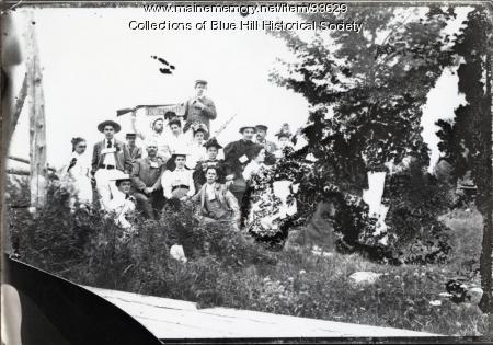 Blue Hill Inn Summer Outing, Blue Hill, ca. 1900