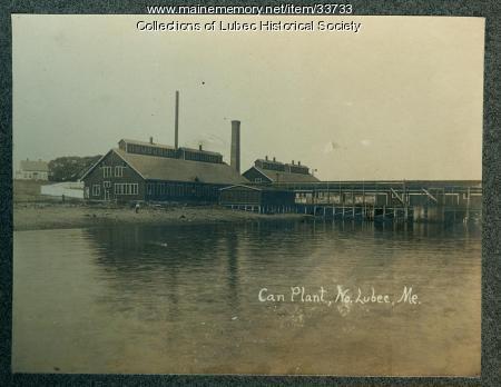 Can Plant, North Lubec, ca. 1900