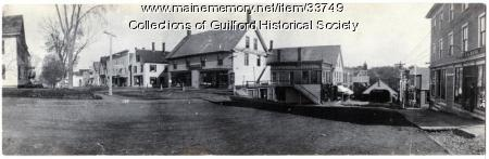 Bank Square, Guilford, ca. 1880