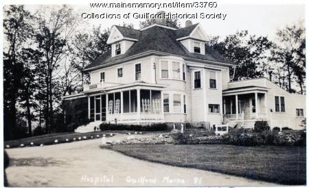 Guilford Hospital, 1921