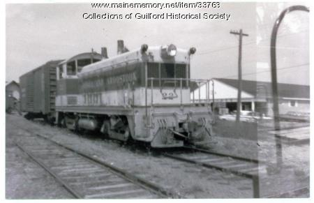 Switcher Engine #22, Guilford, ca. 1963