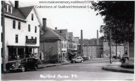 North Main Street, Guilford, ca. 1935