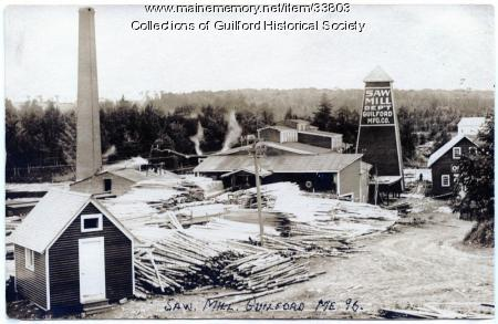 Guilford Manufacturing Company Mill, Guilford, 1896