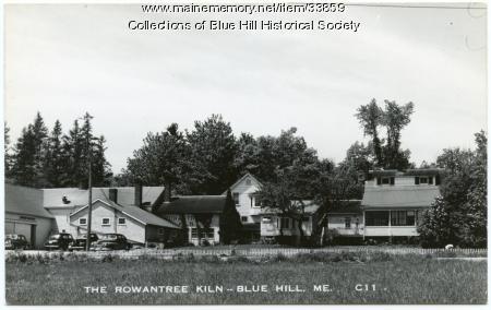 Rowantrees Pottery, Blue Hill, ca. 1950