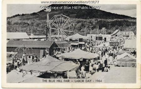 Postcard of the Blue Hill Fair, 1964