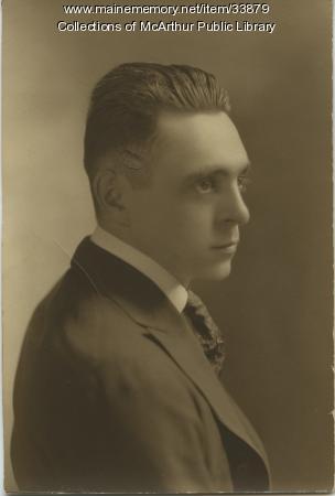 "Joseph Jovite ""J. J."" Salvas, Biddeford, ca. 1920"
