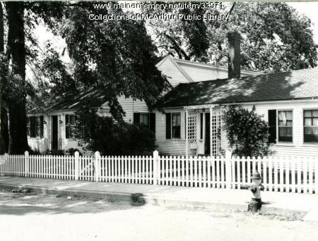 Thacher House, South Street, Biddeford, 1955