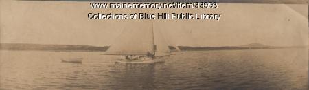 Friendship vessel, Blue Hill, 1907